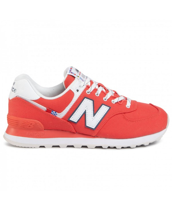 NEW BALANCE - Sneakers - rouge